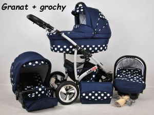Raf pol Baby Lux Largo 2020 Navy Blue Dots
