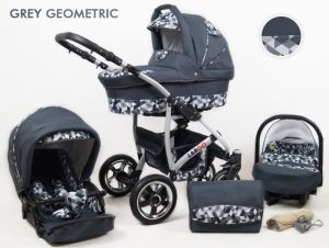 Raf pol Baby Lux Largo 2020 Grey Geometric
