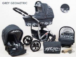 Raf pol Baby Lux Largo 2020 Grey Geometric