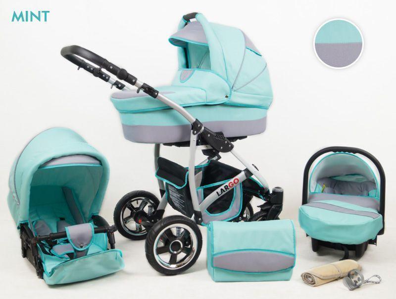 Raf-pol Baby Lux Largo 2020 Mint + u nás ZÁRUKA 3 ROKY