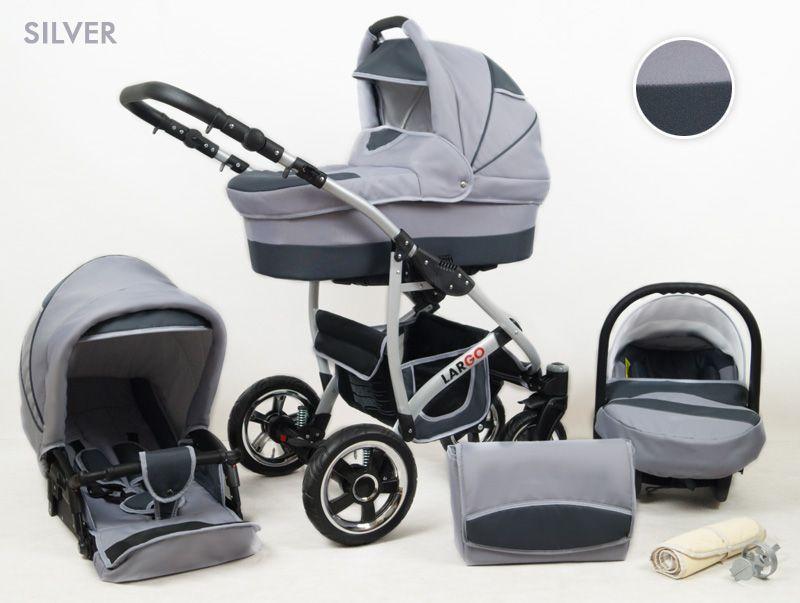 Raf-pol Baby Lux Largo 2021 Silver + u nás ZÁRUKA 3 ROKY