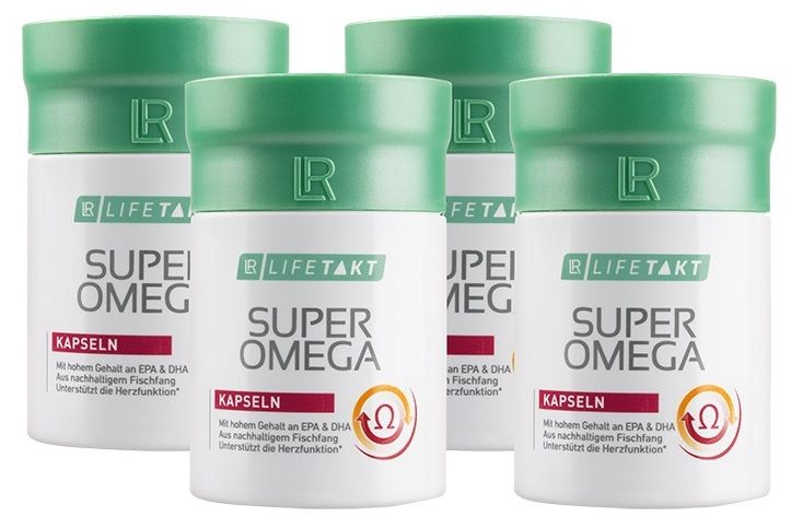 LR Health & Beauty LR Lifetakt Super Omega 4 x 60 kapslí