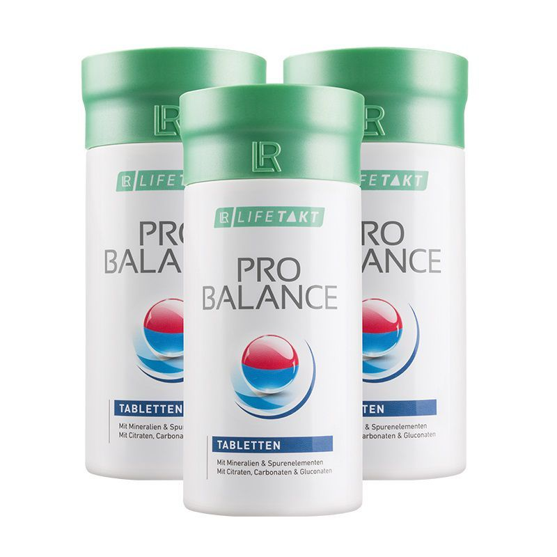 LR Health & Beauty LR Lifetakt Pro Balance Tablety Série 3 ks 3 x 360 tabl.