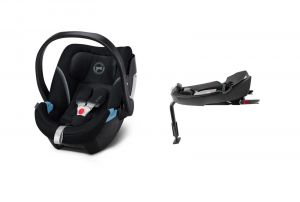 Cybex Aton 5 2021 Base 2-Fix Deep Black + KAPSÁŘ ZDARMA