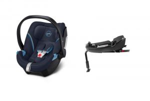 Cybex Aton 5 2021 Base 2-Fix Navy Blue + KAPSÁŘ ZDARMA