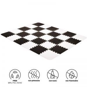 Kinderkraft Luno pěnové puzzle Black