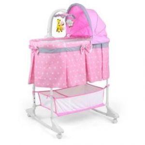 Milly Mally Multifunkční kolébka Sweet Melody pink