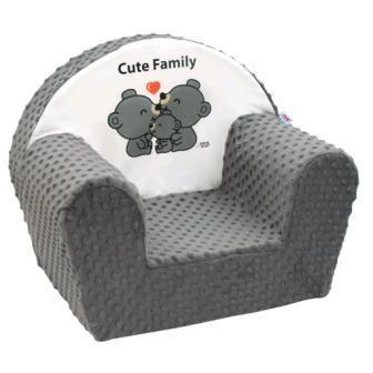 New Baby Cute Family šedé + u nás ZÁRUKA 3 ROKY