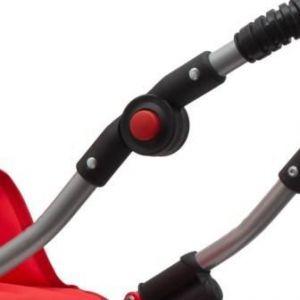 New Baby Retro 2v1 Magdalena červený s puntíky + u nás ZÁRUKA 3 ROKY