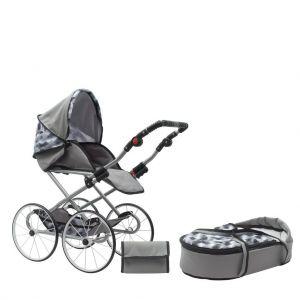 New Baby Retro 2v1 Nella šedý + u nás ZÁRUKA 3 ROKY