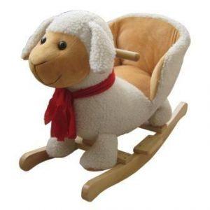 PlayTo houpací hračka s melodií ovečka