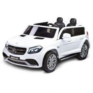 Toyz elektrické autíčko Mercedes GLS63 2 motory bílá