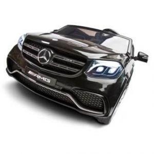 Toyz elektrické autíčko Mercedes GLS63 2 motory černá + u nás ZÁRUKA 3 ROKY
