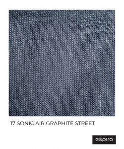 Espiro Sonic Air 17 graphite street 2021 + u nás ZÁRUKA 3 ROKY