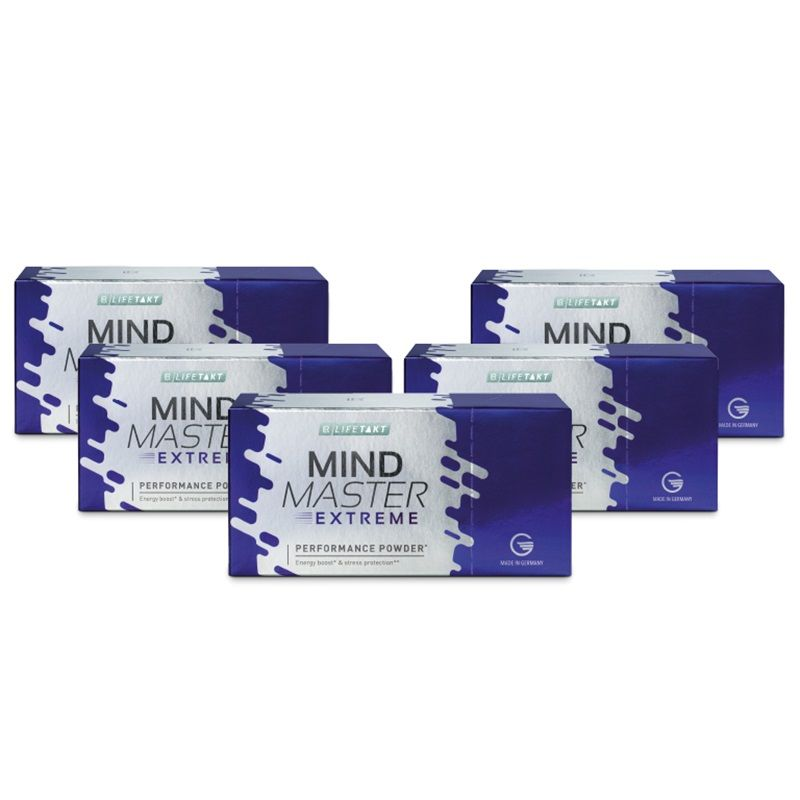 LR Mind Master Extreme Performance Powder Série 5 x 14 sáčků po 2,5 g
