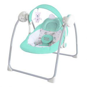 New Baby dětské houpací lehátko Teddy Mint