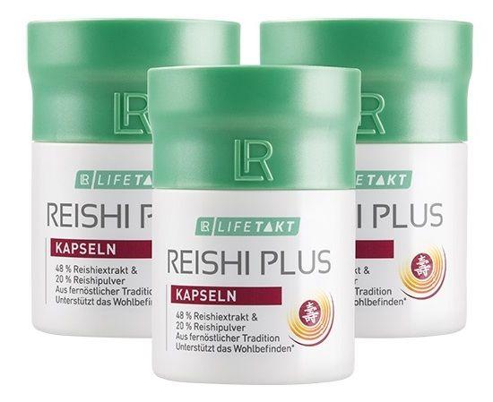 LR Lifetakt Reishi Plus Kapsle Série 3 x 30