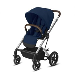 Cybex Balios S Lux SILVER Navy Blue 2021