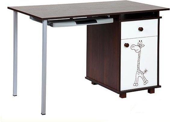 Psací stůl Klupš Safari Žirafa ořech Klups