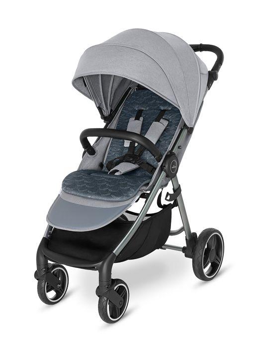 Baby Design Wave 2021 107 Silver Grey + u nás ZÁRUKA 3 ROKY