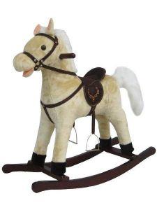 Alexis Houpací koník - béžový XR022