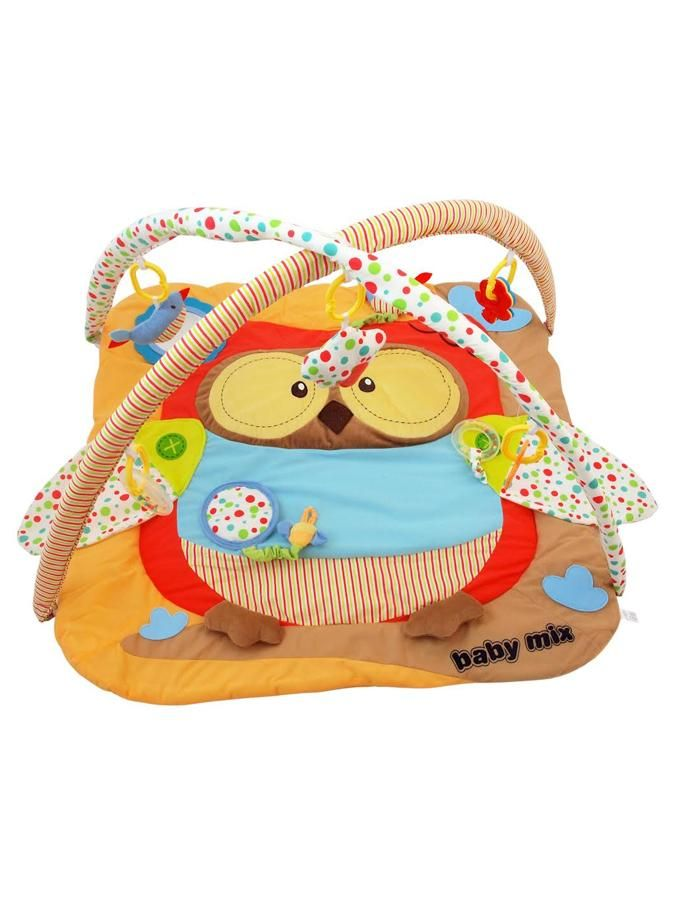 Alexis Baby Mix Hrací deka s hrazdou SOVA
