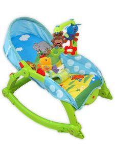 Dětské lehátko 2v1 Baby Mix safari