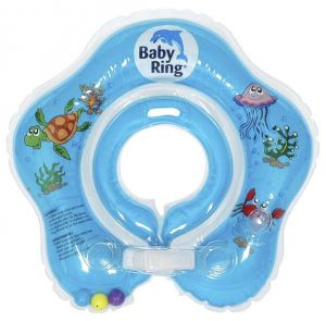 Babypoint koupácí kruh Baby Ring modrá