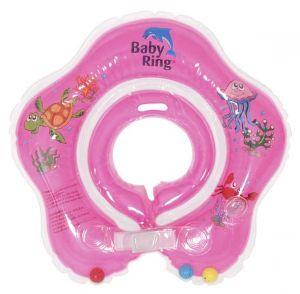 Babypoint koupácí kruh Baby Ring růžová