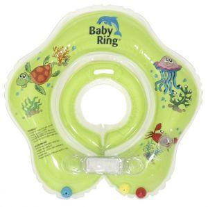 Babypoint koupácí kruh Baby Ring zelená
